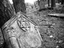 A Jewish cemetery in Otwock, Poland, near Warsaw. - IMAGE VIA
