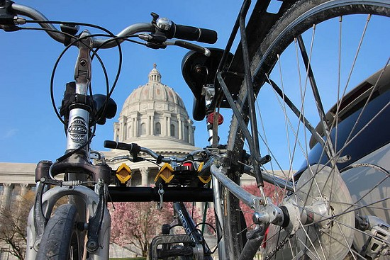 Bikers are calling yesterday's amendment defeat the bicycling victory of the decade. - MISSOURI BICYCLE FEDERATION