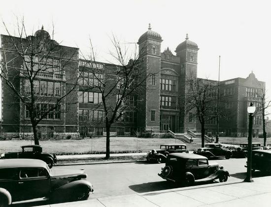 Central High School in its heyday. - PHOTO COURTESY OF MISSOURI HISTORY SOCIETY