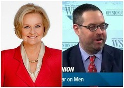 Senator Claire McCaskill fires back at columnist James Taranto. - MCCASKILL FLICKR/WSJ.COM