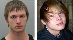Police believe Meiners (left) killed Willman in a fight over a woman.