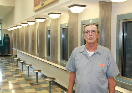 Jeff Mizanskey at the Jefferson City Correctional Center. - RAY DOWNS