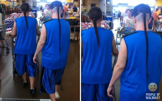 Not a rat-tail; it's a rat-braid; this is next-level stuff.