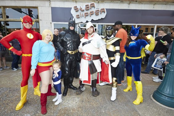 Star Clipper's 2014 Free Comic Book Day was another star-studded affair. - THEO WELLING