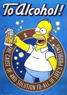 Homer knows a thing or two about booze-fueled impulsivity - IMAGE SOURCE