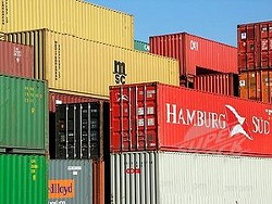 The site of City Nights is now home to four shipping containers such as these.