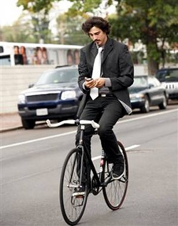 Texting while pedaling would still be permitted in Missouri.