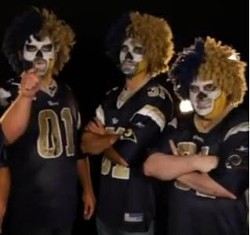 """Just your typical Rams """"fans"""" this year. - YOUTUBE.COM"""