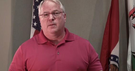Ferguson Police Chief Tom Jackson in his apology video.