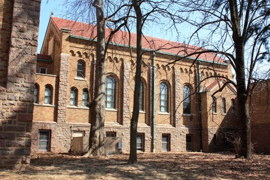 The chapel at the former Incarnate Word Convent.