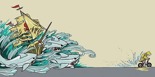 I Am Ahab!, from Artcrank. - TREVOR COLLINS