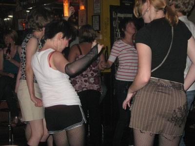 London Calling's dance floor.