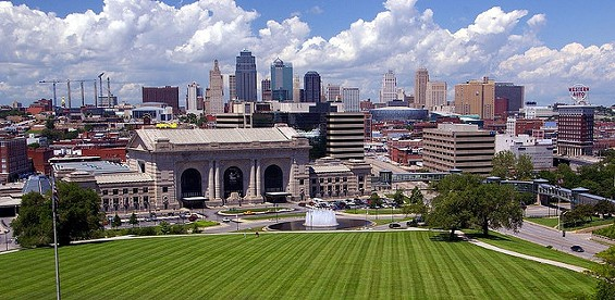 "Lookin' good, Kansas City. But are you really America's ""coolest"" city? - L ALLEN BREWER VIA FLICKR"