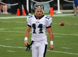 Amendola in his rookie season with the Eagles. - COMMONS.WIKIMEDIA.ORG