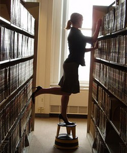 'Cause librarians are sexy, dammit!