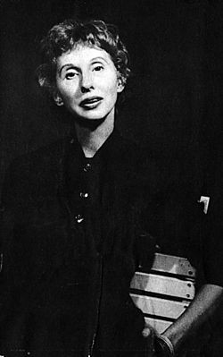 Jetta Carleton in 1962 - WILLIAM G. BERKELEY