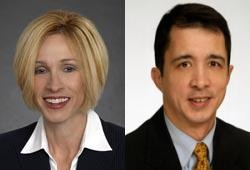 Rep. Genise Montecillo and her ex-husband (and House candidate) Joe Montecillo