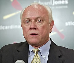 Walt Jocketty in his days at GM of the Cardinals.
