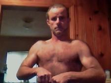 Ragen, convicted cat killer, showing off his pecs. - GRIEG RAGEN/FACEBOOK