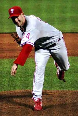 Lee in his first go-round as a Phillie. - COMMONS.WIKIMEDIA.ORG