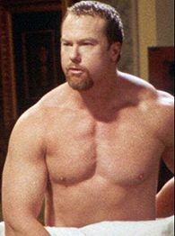 Mark McGwire: Fortunately we won't be hearing courtroom testimony on what lies beneath this towel.