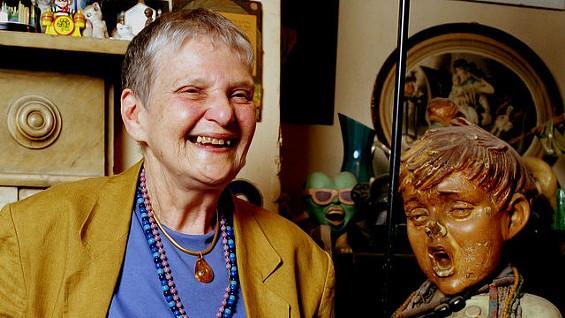 Fran Landesman in 1996. - IMAGE VIA
