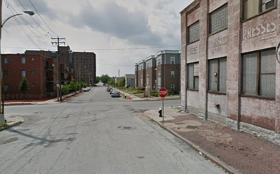 Block where the shooting happened in Columbus Square. - VIA GOOGLE MAPS