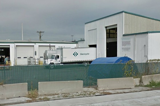 The Stericycle facility in north St. Louis. - GOOGLE STREET VIEW