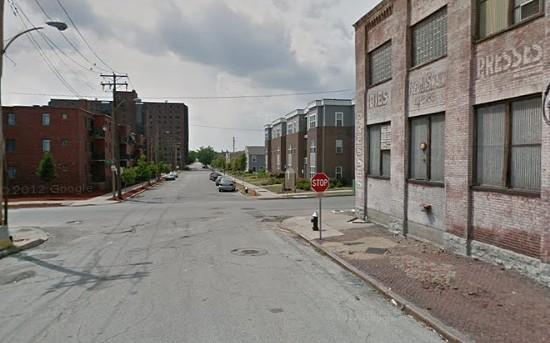 Block where the shooting happened in Columbus Square. - VIA GOOGLE MAPS