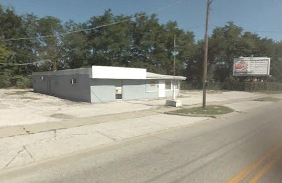 The former VFW post at 300 E. Elm in Alton where Anthony was fatally shot.