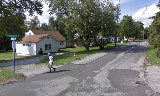 Ventura Drive where the shooting victims were found. - VIA GOOGLE MAPS