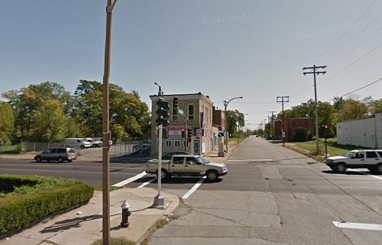 Block where Jackson's body was found. - VIA GOOGLE MAPS