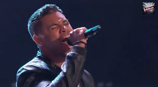 "St. Louisian James Irwin knocked down REM's ""Losing My Religion"" on last night's The Voice - THE VOICE, VIA YOUTUBE"