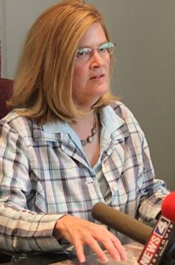 "Bonenberger's lawyer Lynette Petruska, of Pleban & Petruska, called the conduct of the SLMPD ""outrageous."" - DANNY WICENTOWSKI"