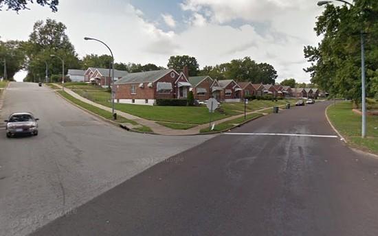 The street where the kitten was found. - VIA GOOGLE MAPS