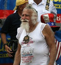 This guy didn't make the hot rabbi list, either. - FLICKR.COM/PHOTOS/VIDIOT