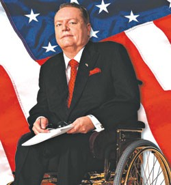Larry Flynt has been in a wheelchair since the 1978 shooting.