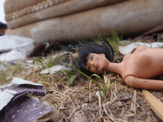 Haunting images litter the city. Did the owner of this doll survive the storm? No one knows. - ALBERT SAMAHA