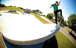 Sushi dish at the Aurora, Illinois skatepark. - SPOHN RANCH SKATEPARKS