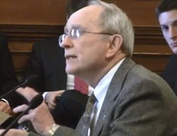 Reverend John Bennett at the Capitol yesterday. Video below. - VIA PROGRESS MISSOURI