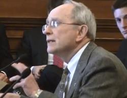 Reverend John Bennett at the Capitol yesterday. Video below. - VIA PROGRESS MISSOURI