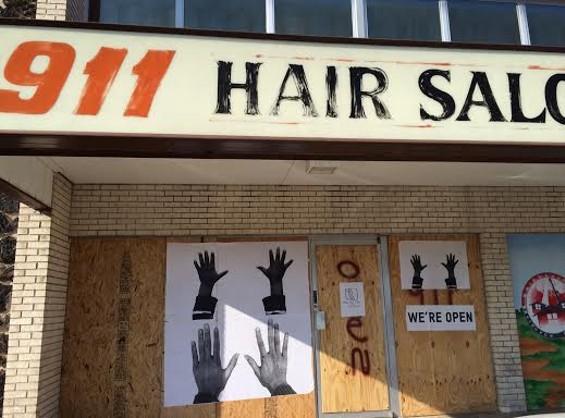 911 Hair Salon in Ferguson. - LINDSAY TOLER