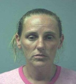 Kelli Horton: It's hard not to grimace when you're accused of doing heroin at Mickey D's. - ST. CHARLES COUNTY SHERIFF VIA KSDK