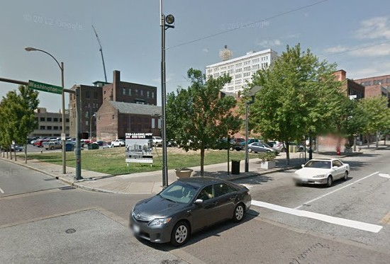 14th and Washington where the crash took place. - VIA GOOGLE MAPS