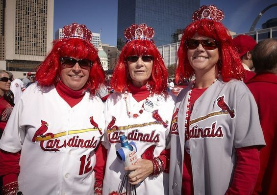 A few members of Cardinal Nation. - SOURCE