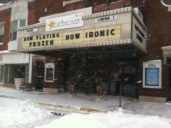 The Orpheum Theatre in Hillsboro, Illinois. - FACEBOOK