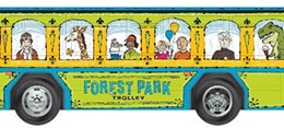 Yes, the trolley will look like it was ripped from the pages of a children's book.