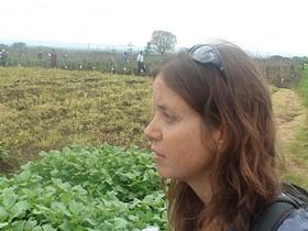 Danielle Nierenberg in Arusha, Tanzania. - IMAGE VIA