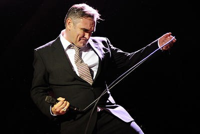 Morrissey on April 8 at the Pageant - PHOTO: TODD OWYOUNG