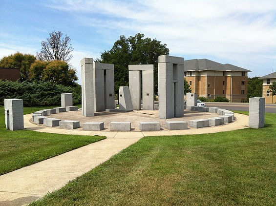 Rolla's partial reconstruction of Stonehenge. - STANNATE VIA FLICKR